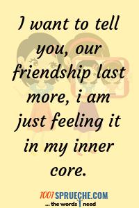 Freundschaftssprüche 140 Süß Schätzend Schön Ohne