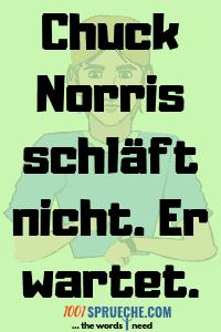 Kurze Chuck Norris Witze