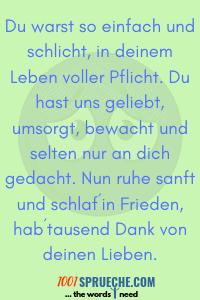 Trauerspruche Texte Fur Opa Glorium