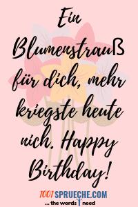 Witzige Geburtstagsgrüße