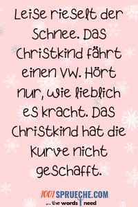 Lustige Weihnachtsgrüße