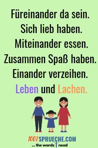 Schöne Sprüche über die Familie