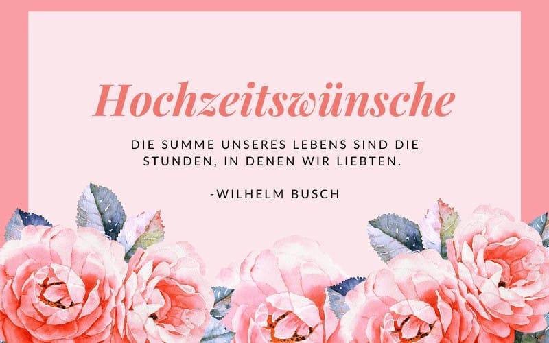 Sprüche Eiserne Hochzeit Wilhelm Busch / Eiserne Hochzeit