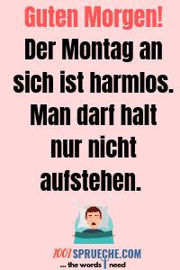 Guten Morgen Montag Spruche 49 Lustig Depressiv 2019