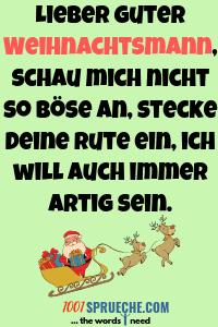 Weihnachtswünsche für Kinder