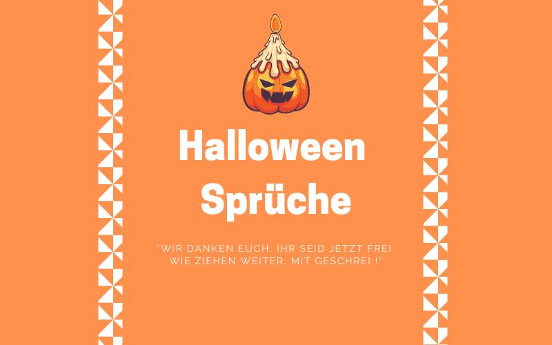 Halloween Sprüche Titelbild