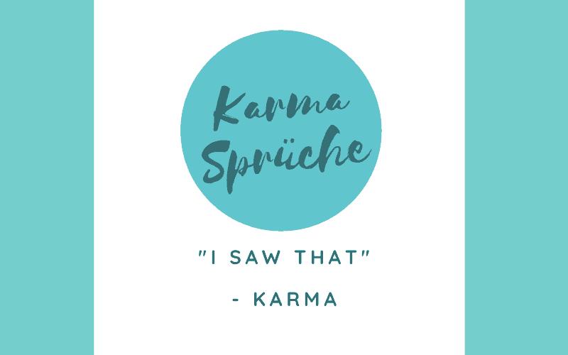 Karma Sprüche Titelbild