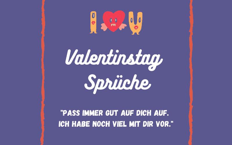Valentinstag Sprüche Titelbild