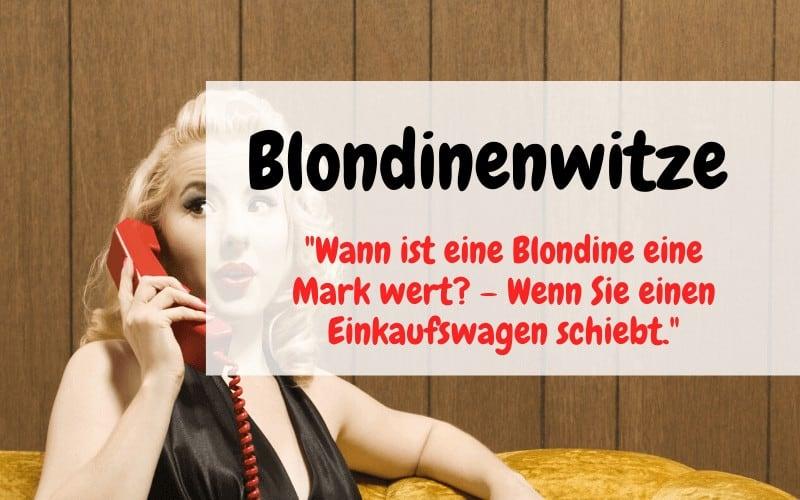 Blondinenwitze Titelbild