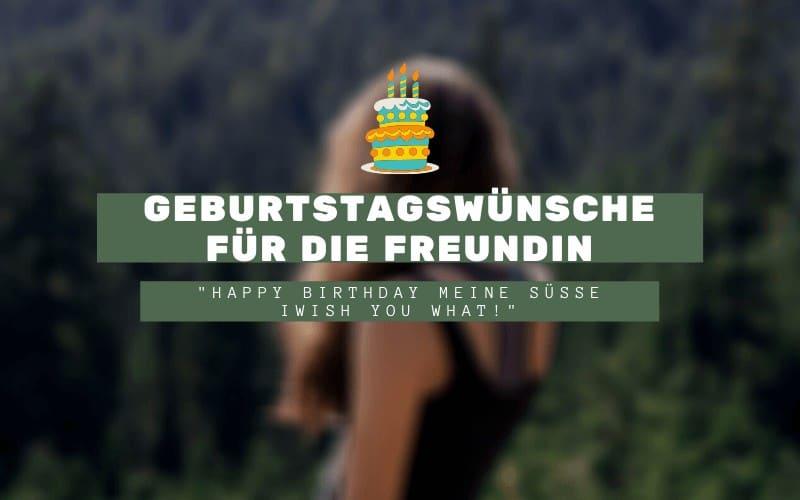 Geburtstagswünsche Freundin Titelbild