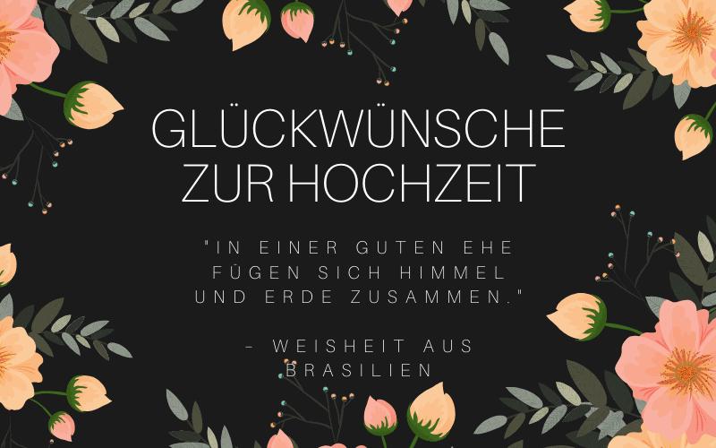 Gluckwunsche Zur Hochzeit 74 Herzlich Personlich Zitate 2019