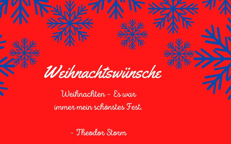 Weihnachtswünsche Titelbild