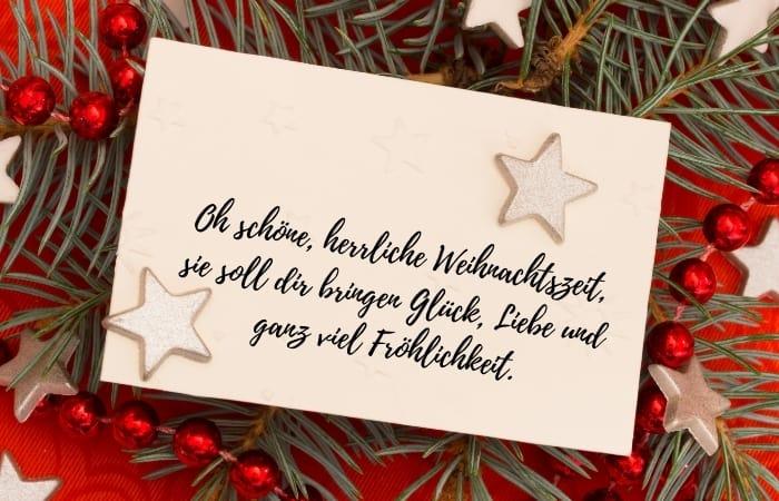 Weihnachtsgrüße für Karten