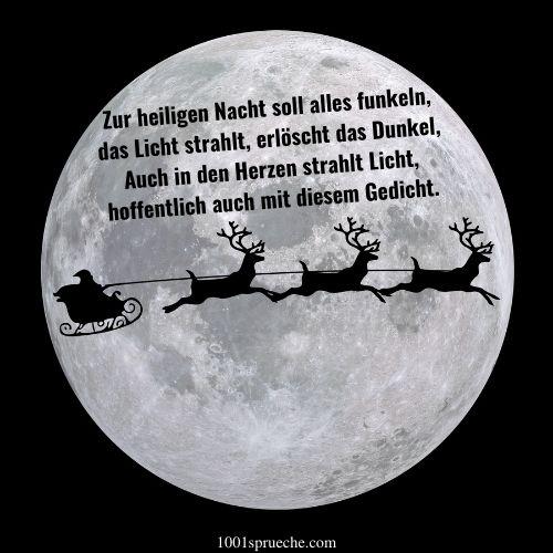 Besinnliche Weihnachtssprüche zum Nachdenken