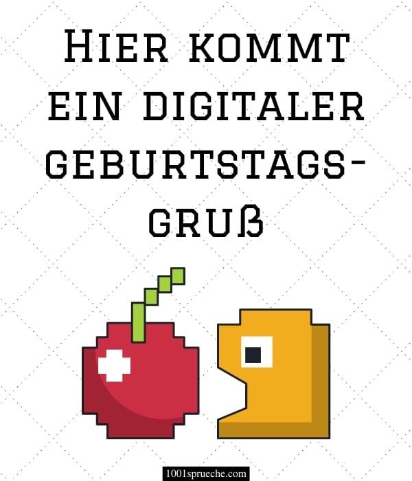 Digitaler Geburtstagswunsch
