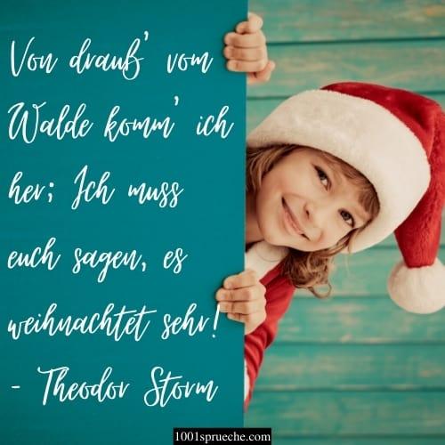 Kurze Weihnachtswünsche für Kinder