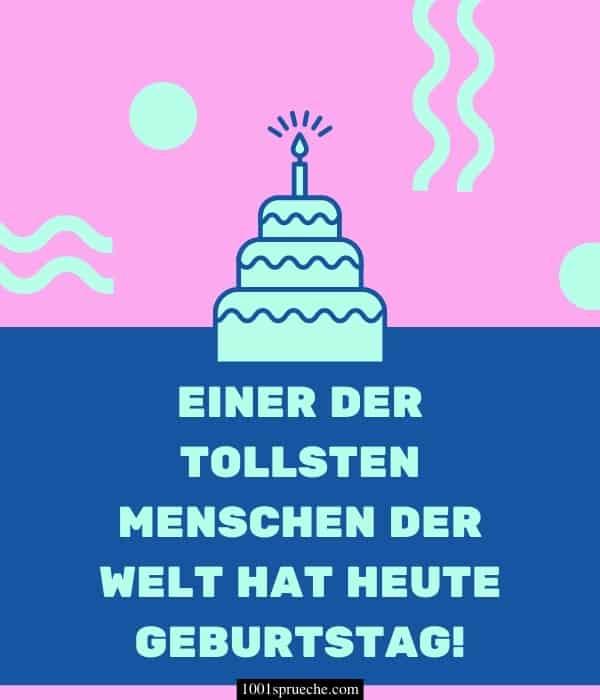Schöne kurze Sprüche zum Geburtstag