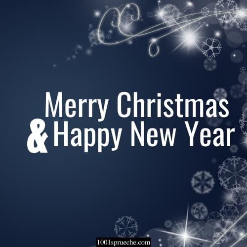 Englische Weihnachtsgrüße für Karten