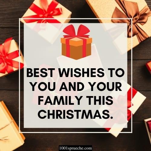 Englische Weihnachtswünsche für Freunde
