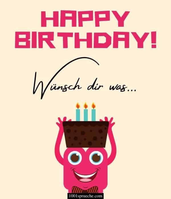 Schöne Geburtstagswünsche für WhatsApp